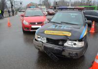 ДТП на перекрестке ул. Елизарова и ул. Полтавский Шлях